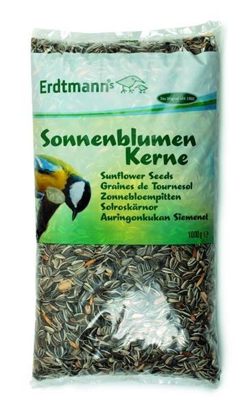 1 Kg Sonnenblumenkerne Vogelfutter Wildvogelfutter