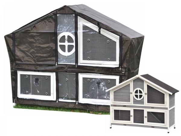 Schutzhülle / Wetterschutz für Hasenstall Momo