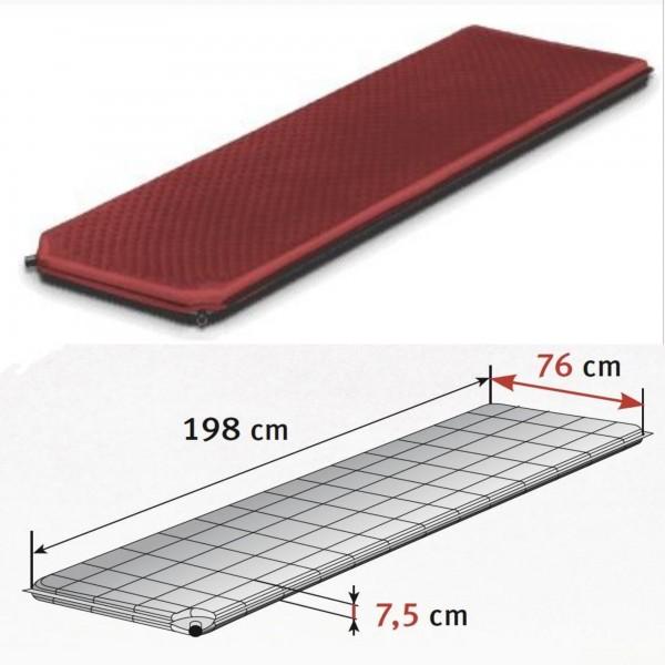 Isomatte ALPINE PLUS 80 198x76x7,5 cm