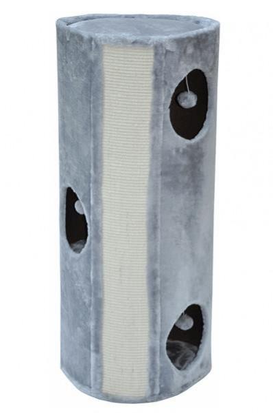 nanook Kratztonne Emma - mit Spielball - rundum Sisalgeflecht XL 100 cm grau