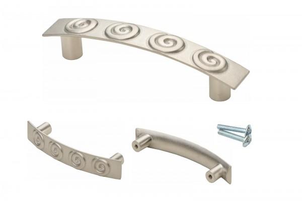 Möbelgriff Skelbo Nickel matt 124 mm