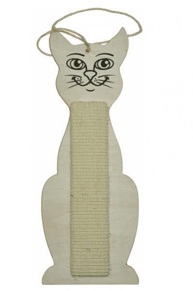 Sisal Wandkratzbrett / Kratzbrett Katze 60 x 20 cm