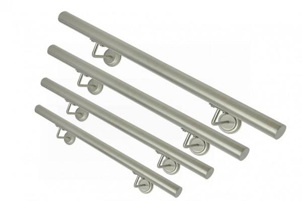 Edelstahl V2A Handlauf Treppengeländer 60-130 cm