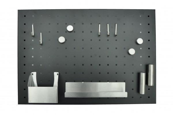 Magnettafel | Memoboard | matt schwarz | 50 x 35 cm