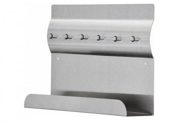 Edelstahl Schlüsselbrett 30 x 20 cm
