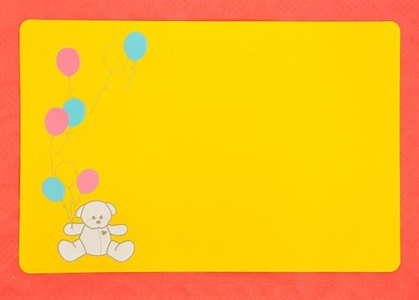 Bodum Platzset | Placemat | abwaschbar | gelb | 45 x 30 |