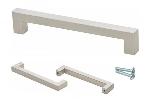 Möbelgriff aus Edelstahl kaufen | gebürstet | 140 mm | Armadale