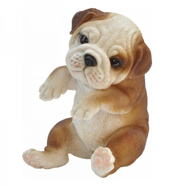 Gartenfigur Hanging Bulldog