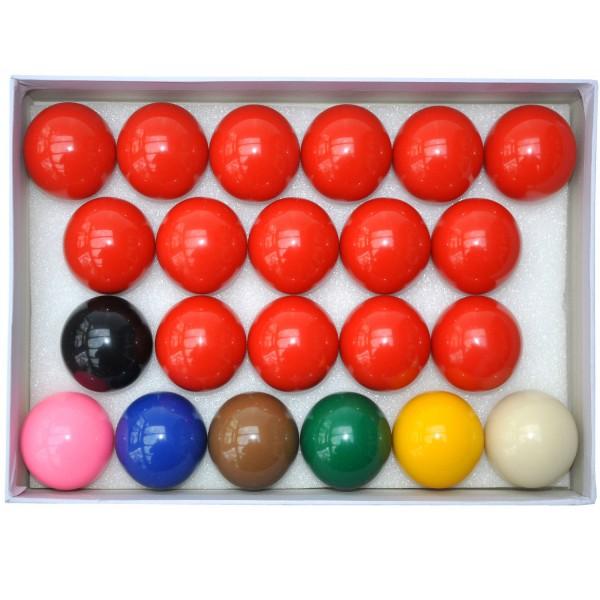 Snookerkugeln Set kaufen | Billard | 22 Pool Kugeln im Karton  |