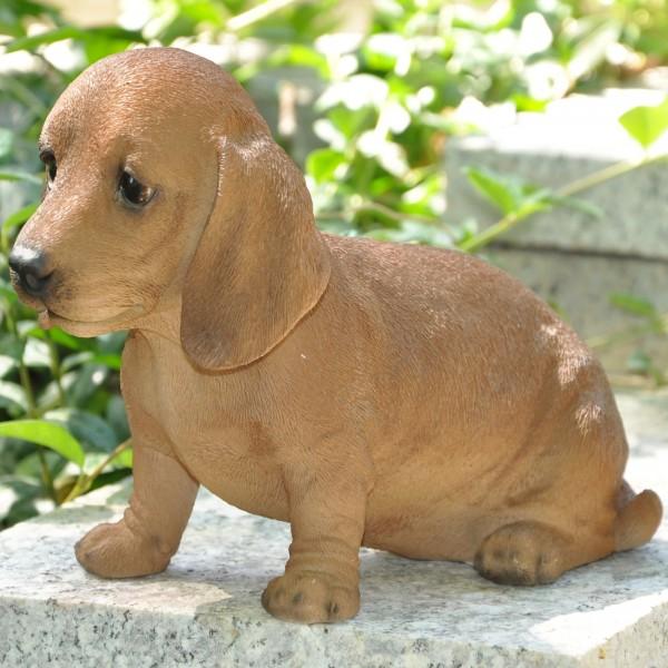 Gartenfigur Hund Dachshund / Dackel